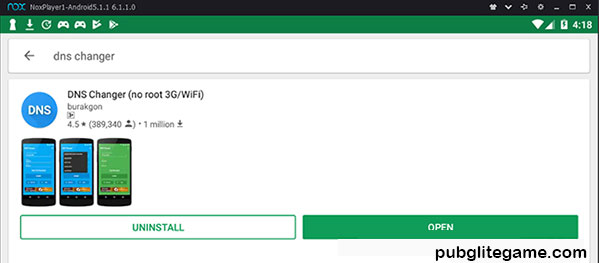 Change The DNS Address