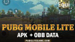 PUBG Mobile Lite 0.12.0 APK OBB Data Free Download