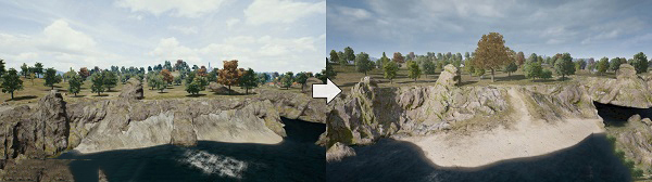 Cliffs In PUBG PC Are Reworked