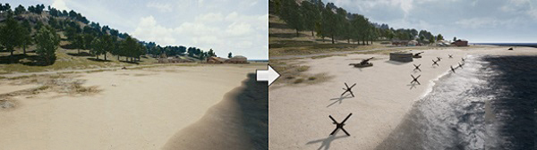 Barriers Are Searched On Beaches In PUBG