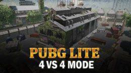 The PUBG Lite 4 vs 4 Mode