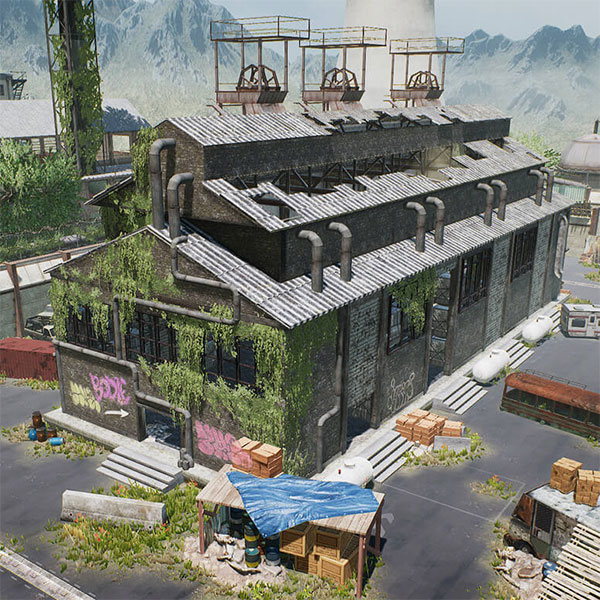 PUBG Llite 4v4 Match Map