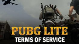Pubg Lite: Updated Terms of Service Effective August 22, 2019