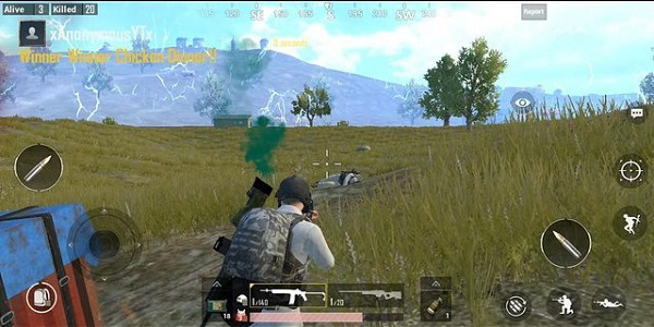 The Recoil Of PUBG Mobile Lite RPG-7 Was Also Strongly Put Down In The Game.