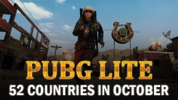 PUBG Lite Is More 52 Countries In October