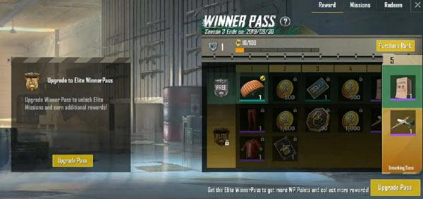 Winner Pass in PUBG Mobile Lite