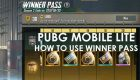PUBG Mobile Lite Winner Pass And How To Use
