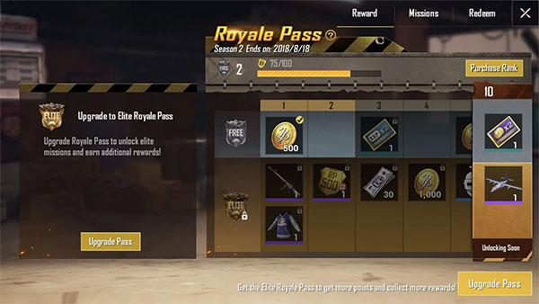 PUBG Mobile Lite Winner Pass
