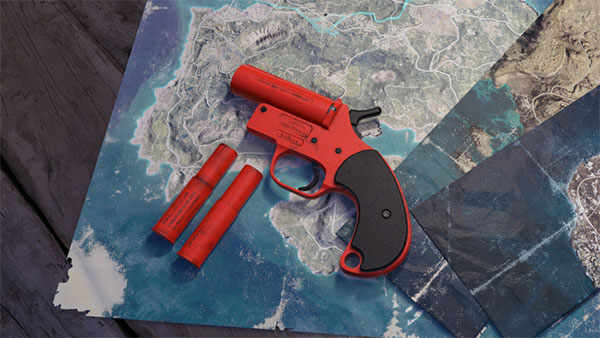 How To Use Flare Gun