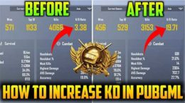 K/D ratio in PUBG Mobile Lite