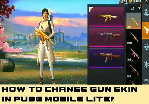 Change Gun Skins in PUBG Mobile Lite