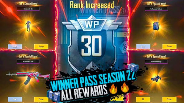 How to get free prizes in PUBG Mobile Lite Season 22 Winner Pass