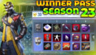 PUBG Mobile Lite Season 23 Winner Pass