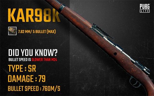 Kark98k is an assault gun that a newbie can use